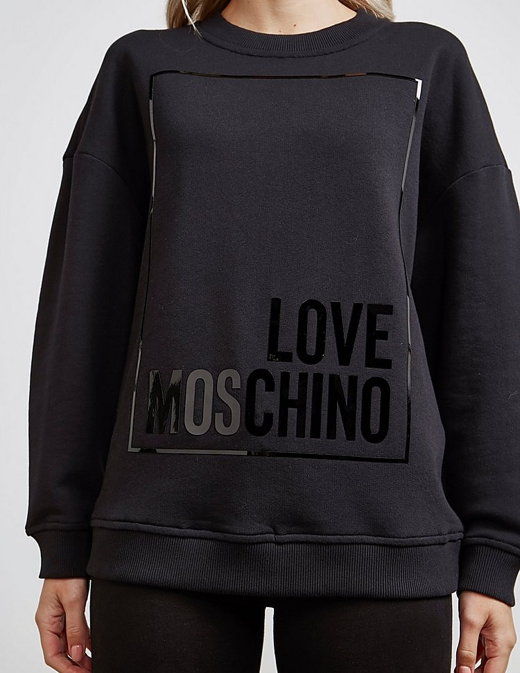 Love Moschino Logo Box Sweatshirt