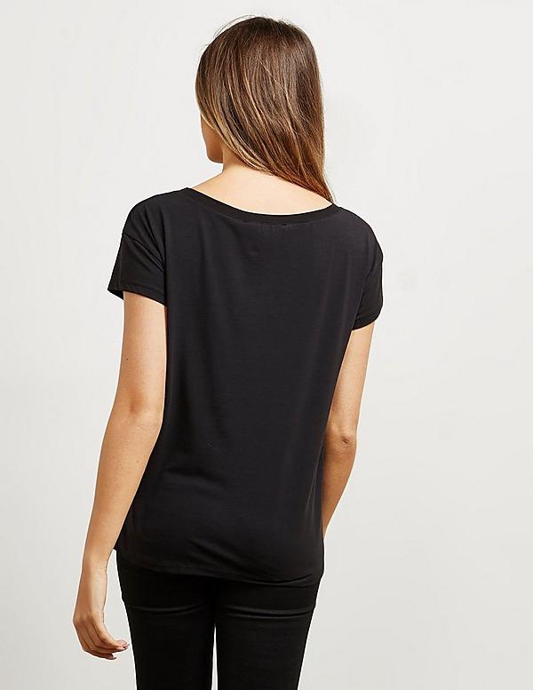 Love Moschino Heart Peach Short Sleeve T-Shirt