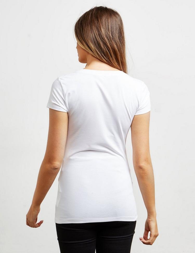 Love Moschino Circle Girl Short Sleeve T-Shirt