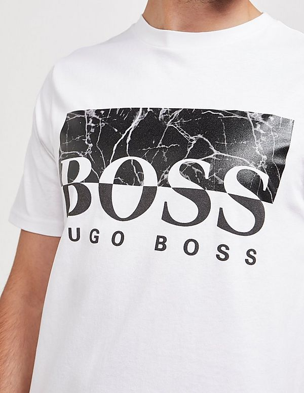BOSS Trek4 Marble Short Sleeve T-Shirt