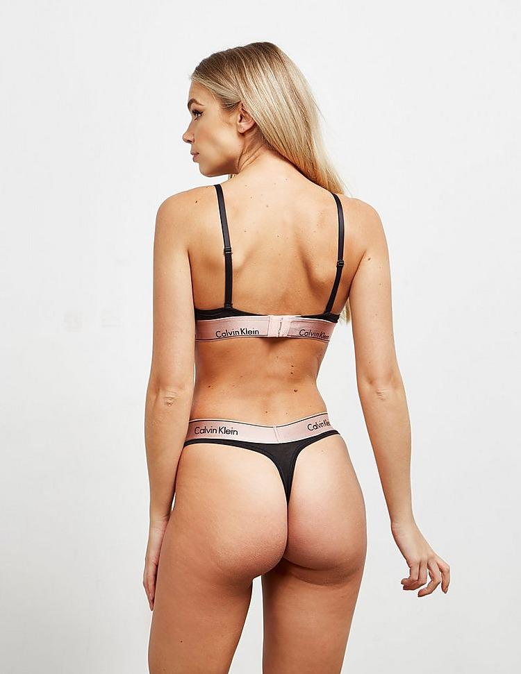 Calvin Klein Underwear Metallic Triangle Bralette