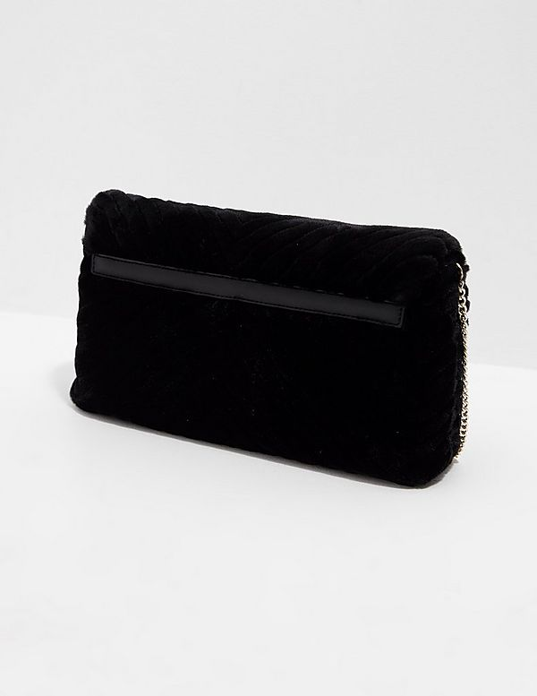Love Moschino Faux Fur Shoulder Bag