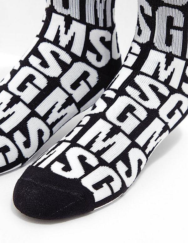 MSGM Logo Socks