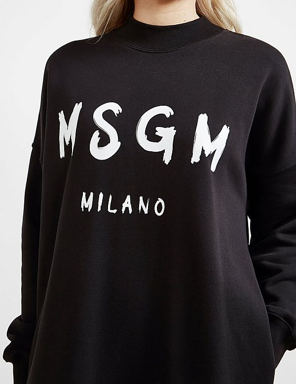MSGM Milano Sweatshirt Dress