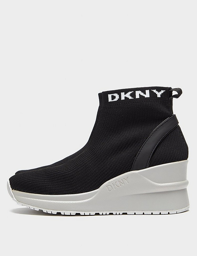 DKNY London Wedge Sock Trainers