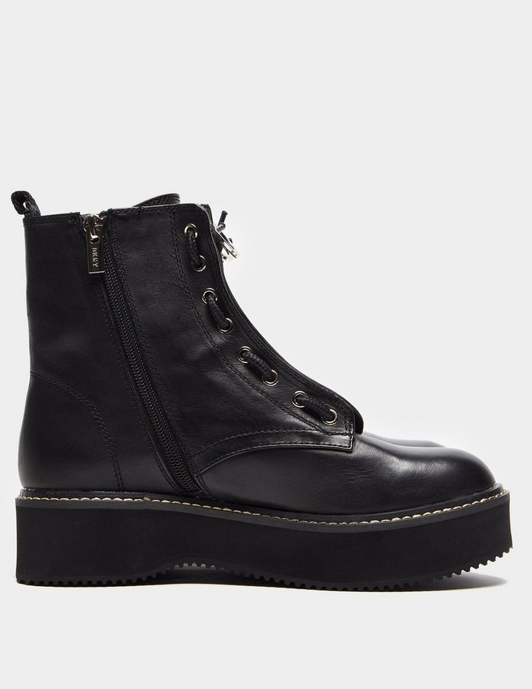 DKNY Rhi Lace Up Boots