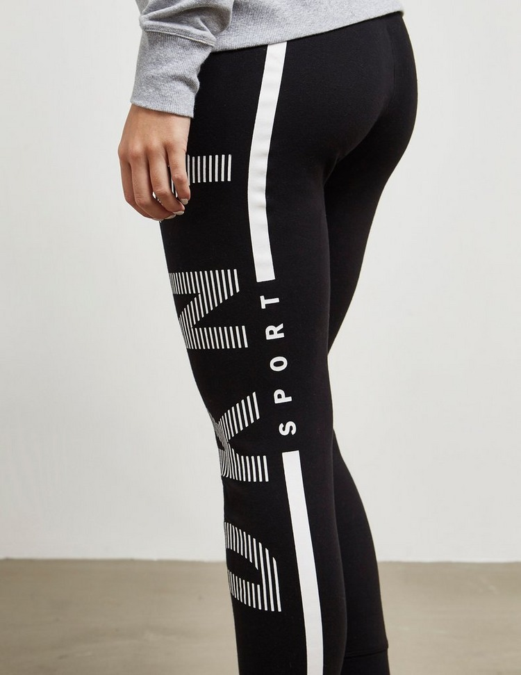 DKNY Sport Stripe Logo Track Pants