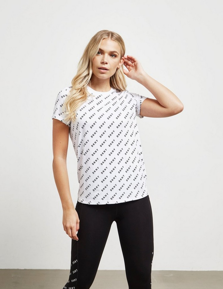 DKNY Sport Logo Print Short Sleeve T-Shirt
