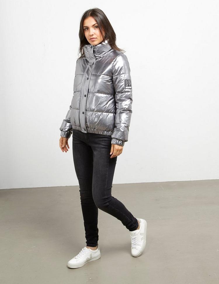 DKNY Metallic Padded Jacket