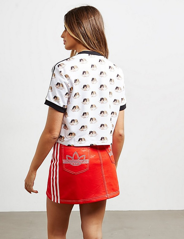 adidas Originals x Fiorucci All Over Logo Short Sleeve T-Shirt