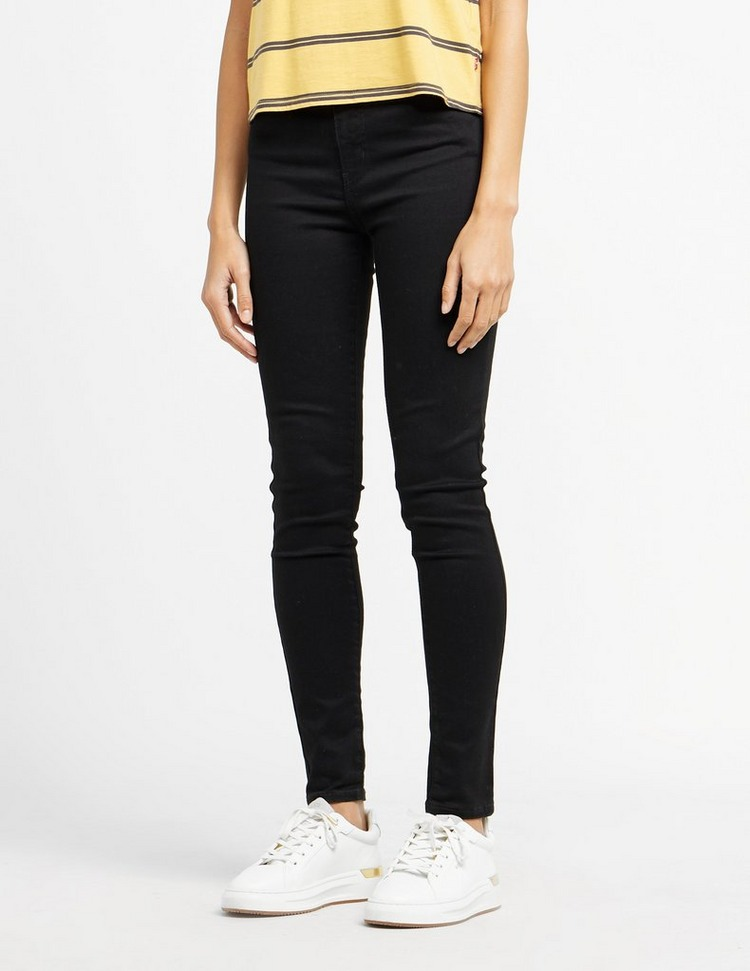 Levis Mile High Waisted Skinny Jeans