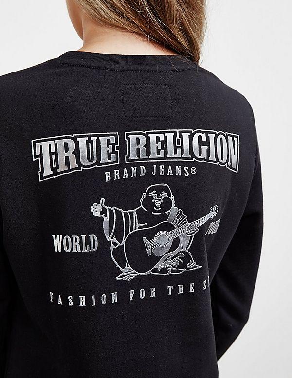 True Religion Buddha Sweatshirt Dress