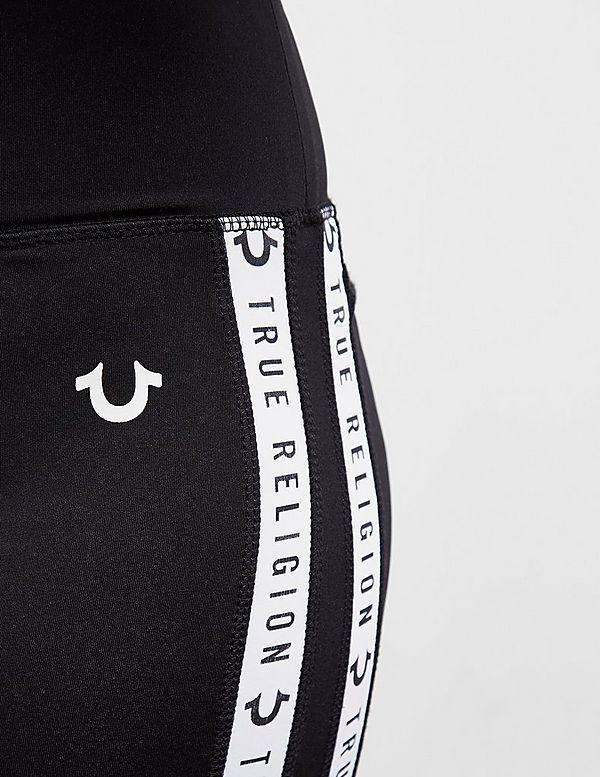 True Religion Logo Tape Leggings