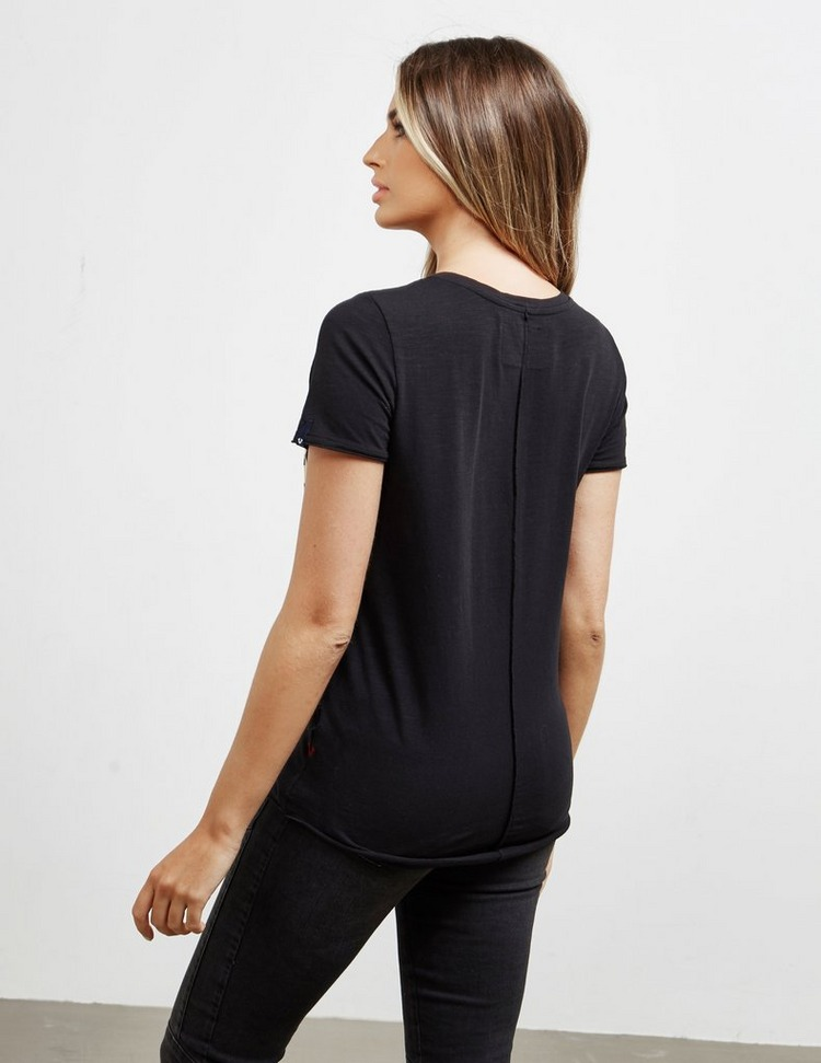True Religion Boxy Logo Short Sleeve T-Shirt