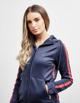 True Religion Red Stripe Full Zip Hoodie
