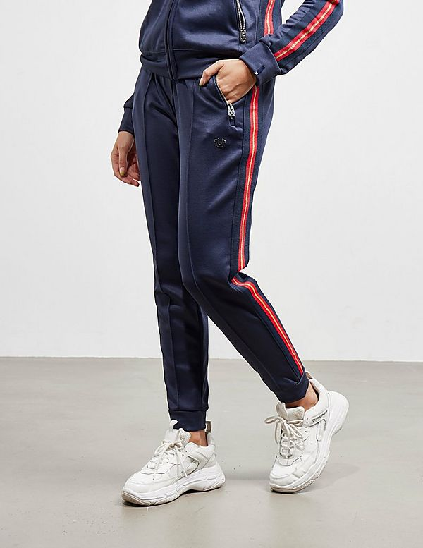 True Religion Red Stripe Track Pants