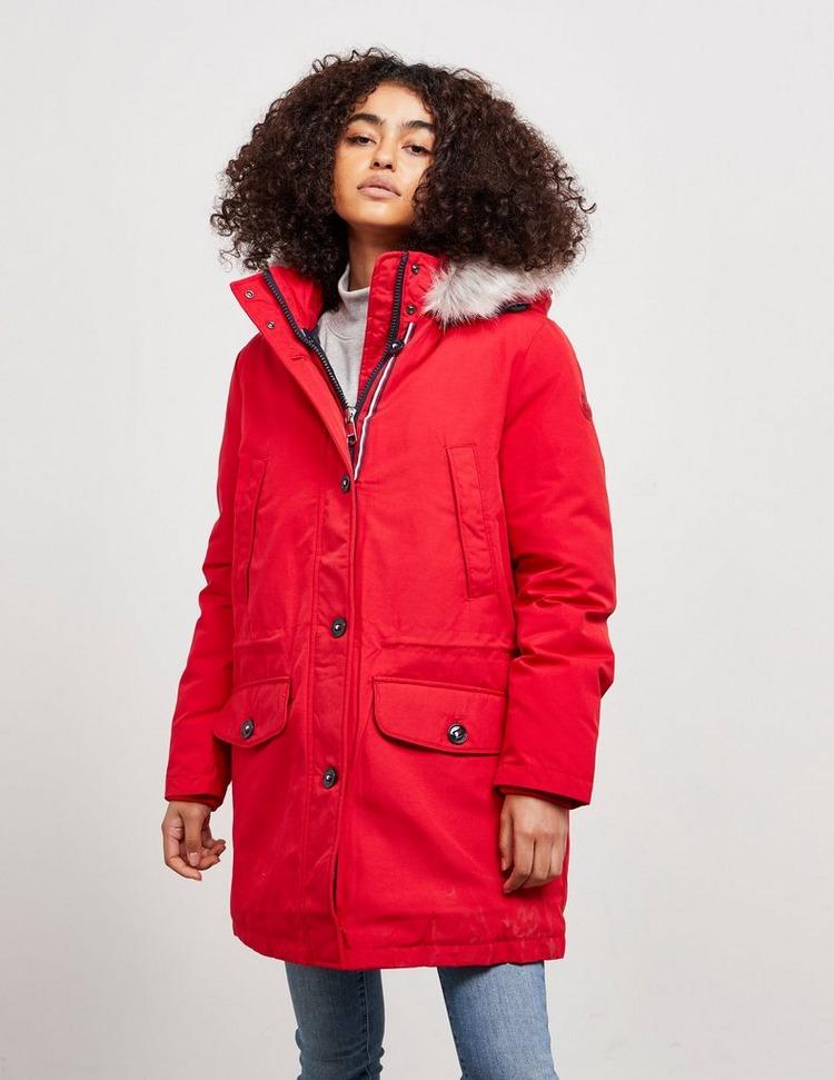 Tommy Hilfiger Nova Authetic Fur Coat