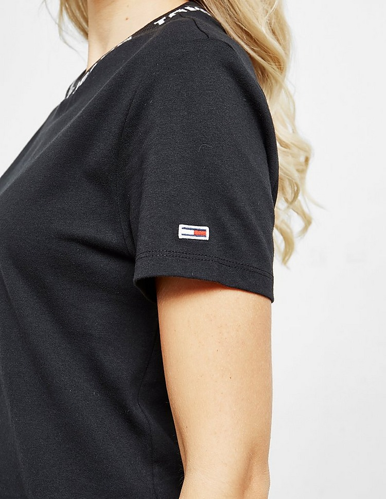 Tommy Jeans Neck Logo Short Sleeve T-Shirt