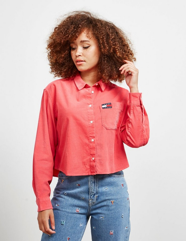 Tommy Jeans Cord Long Sleeve Shirt