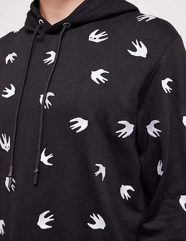 McQ All Over Swallow Hoodie