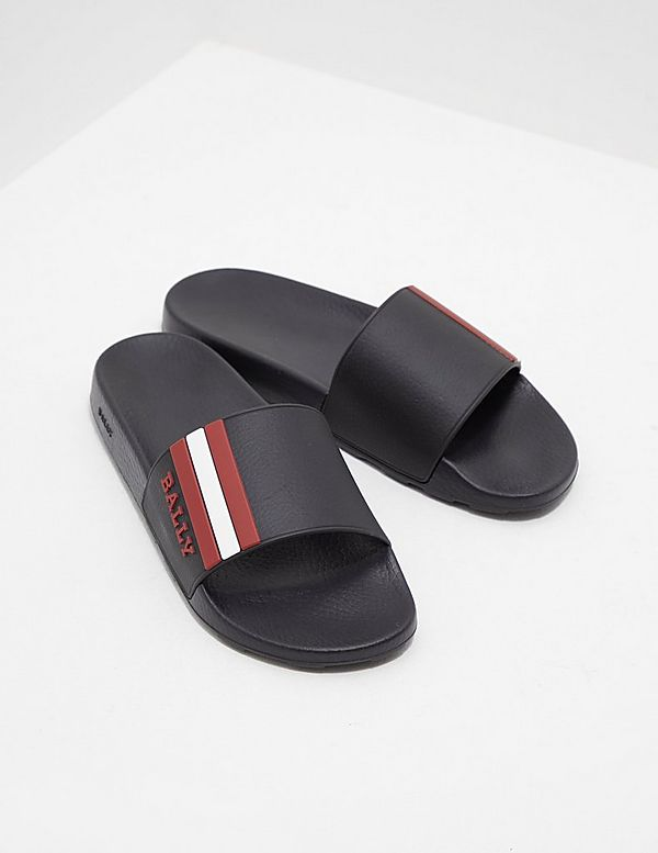 Bally Stripe Slides