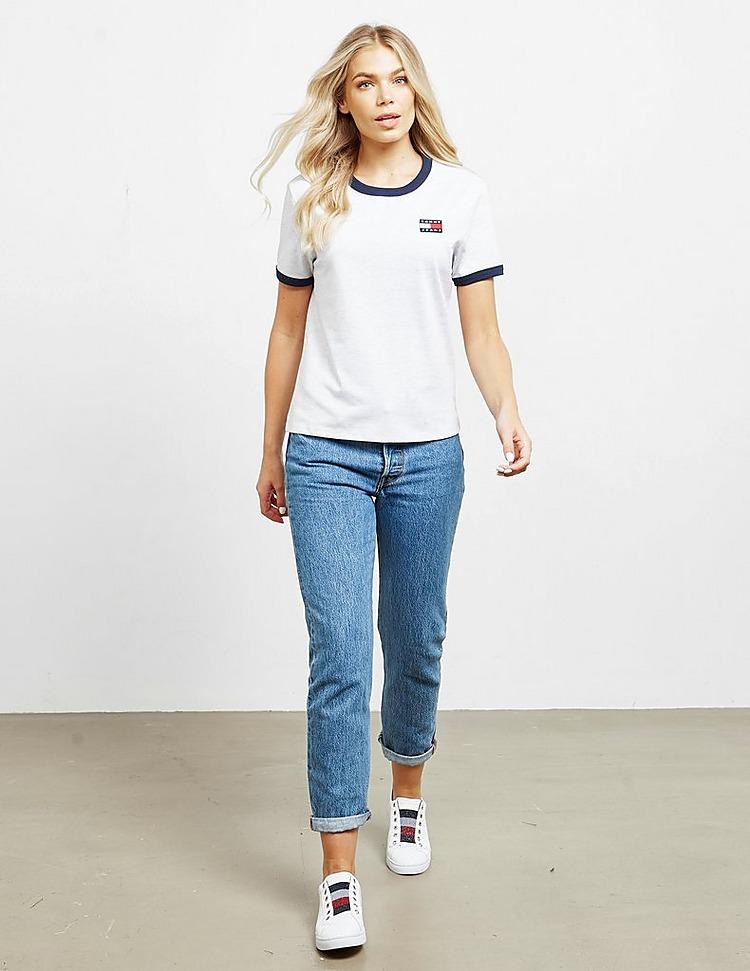 Tommy Jeans Badge Ringer Short Sleeve T-Shirt