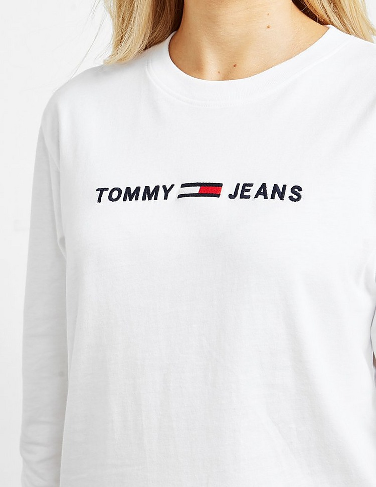 Tommy Jeans Clean Long Sleeve T-Shirt
