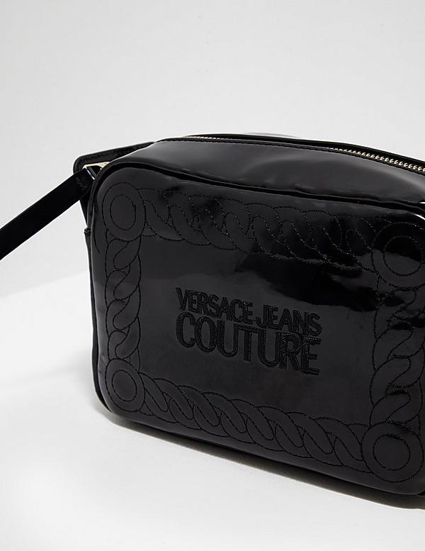 Versace Jeans Couture Patent Shoulder Bag