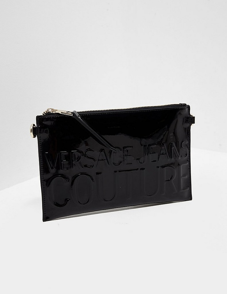 Versace Jeans Couture Patent Clutch Bag