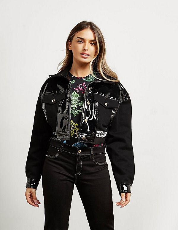 Versace Jeans Couture Shine Crop Jacket
