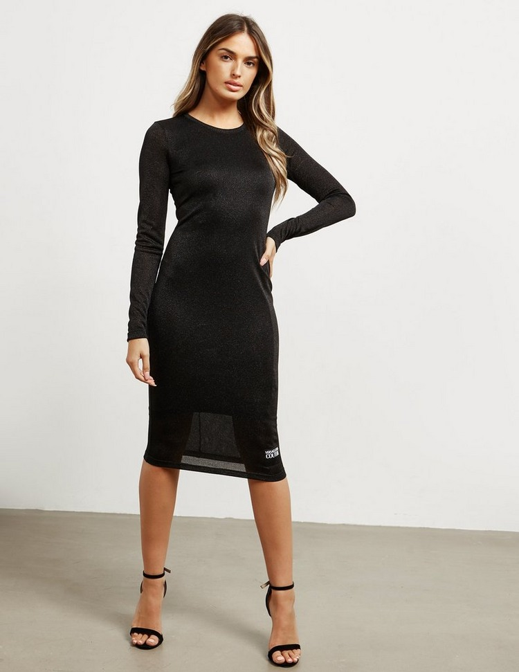 Versace Jeans Couture Jersey Long Sleeve Dress