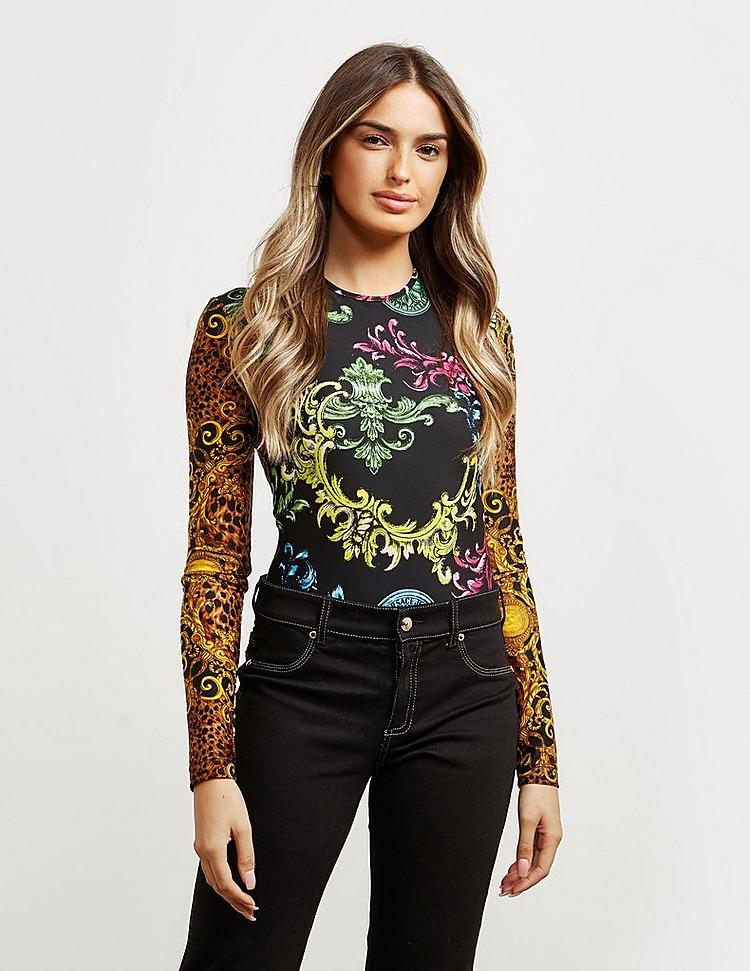 Versace Jeans Couture Baroque Print Bodysuit