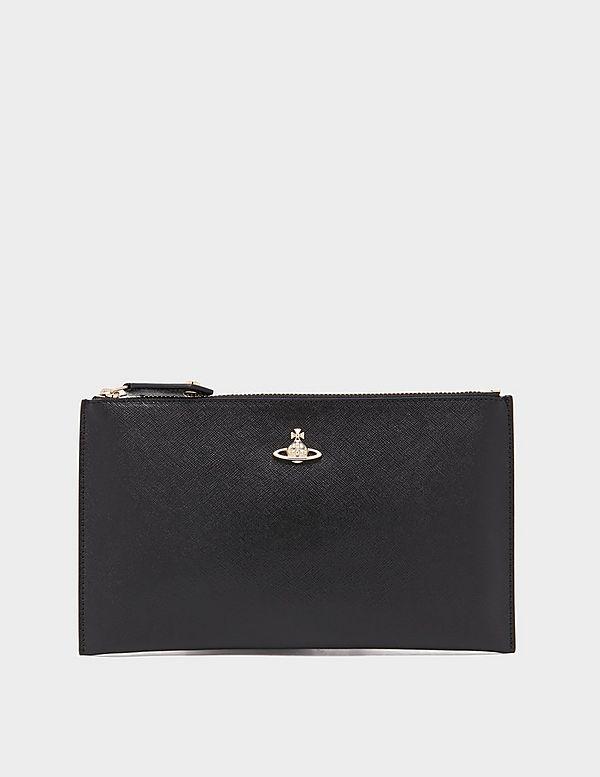 Vivienne Westwood Victoria Zip Clutch Bag