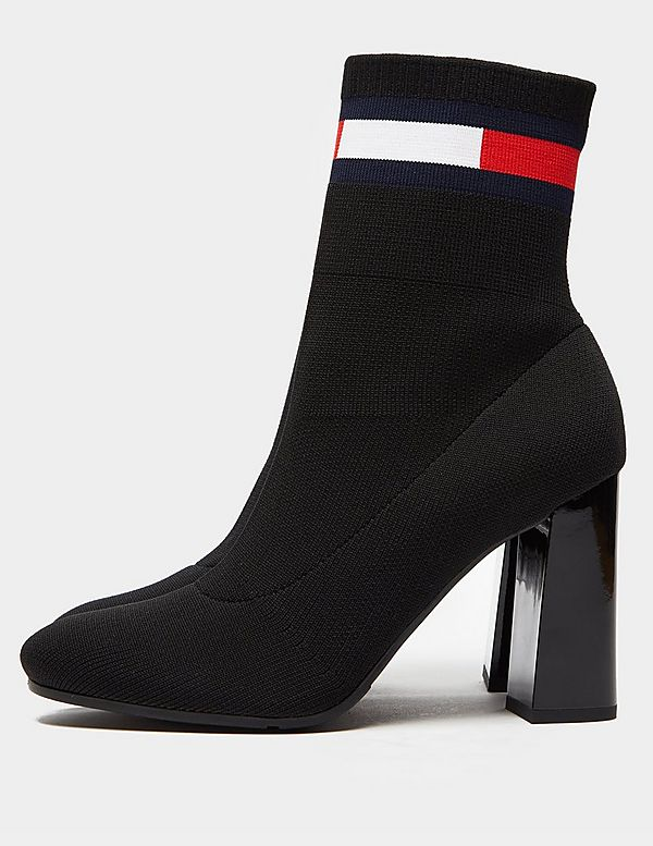 Tommy Jeans Sock Heeled Boots