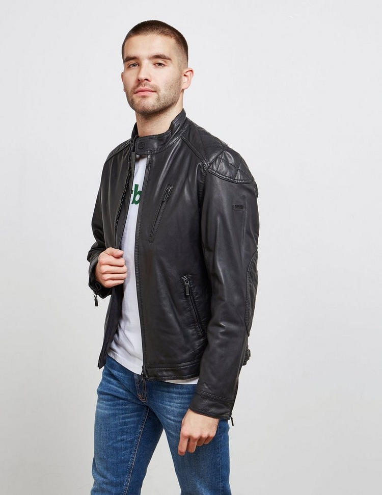 Barbour International Marlon Leather Jacket