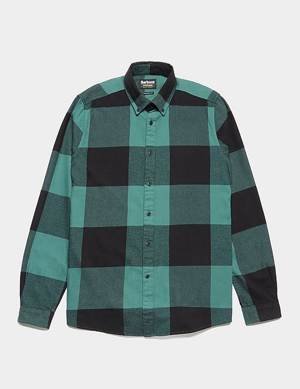 Barbour International Large Gingham Long Sleeve Shirt