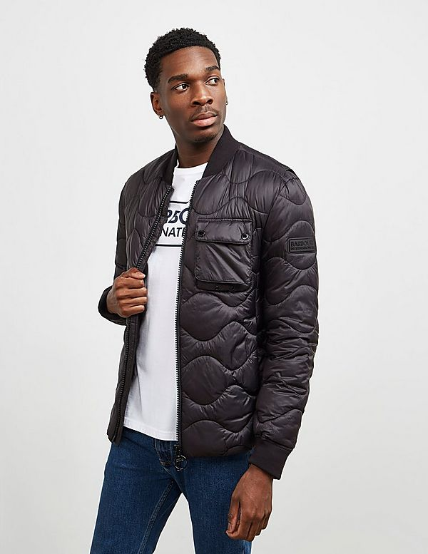 Barbour International Synon Quilted Padded Jacket