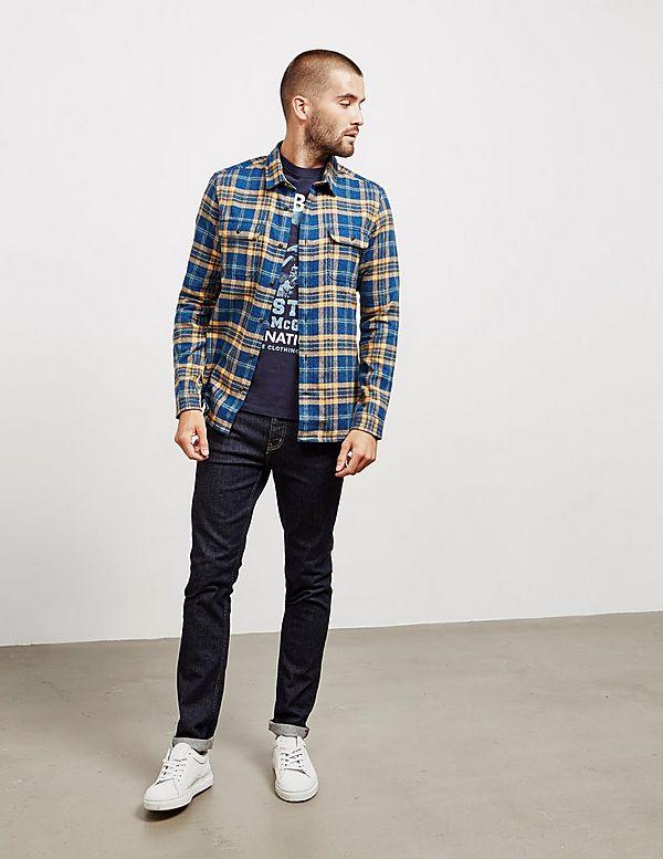 Barbour International Steve McQueen Chuck Long Sleeve Shirt