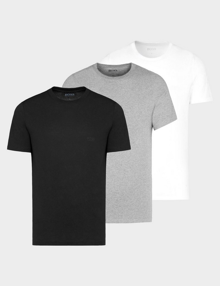 BOSS 3-Pack Logo Short Sleeve T-Shirt