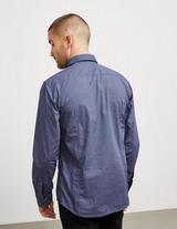 BOSS Dot Print Long Sleeve Shirt