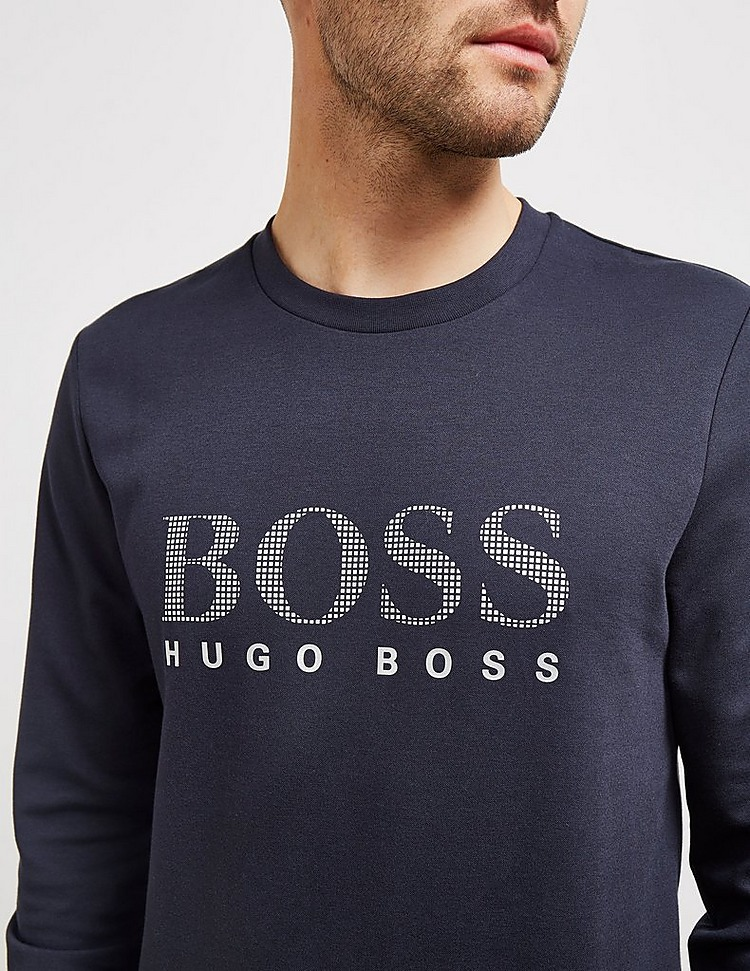 BOSS Logo Crewneck Sweatshirt