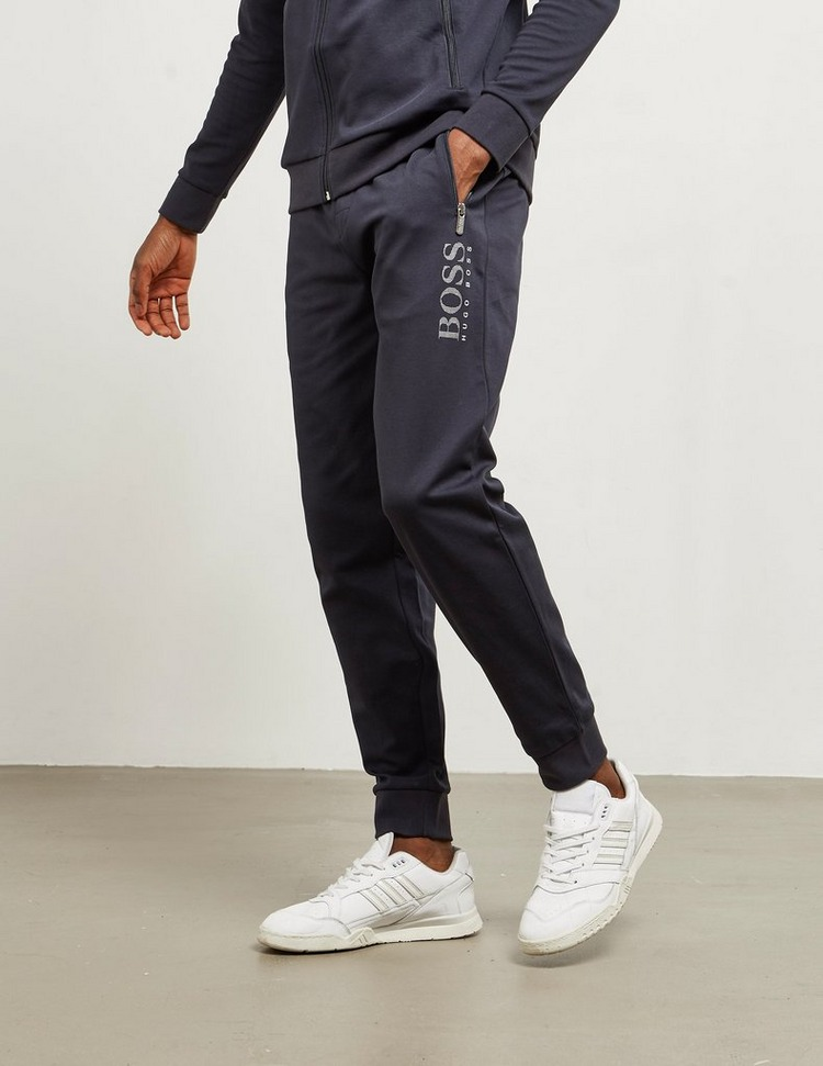 BOSS Logo Cuffed Fleece Pants