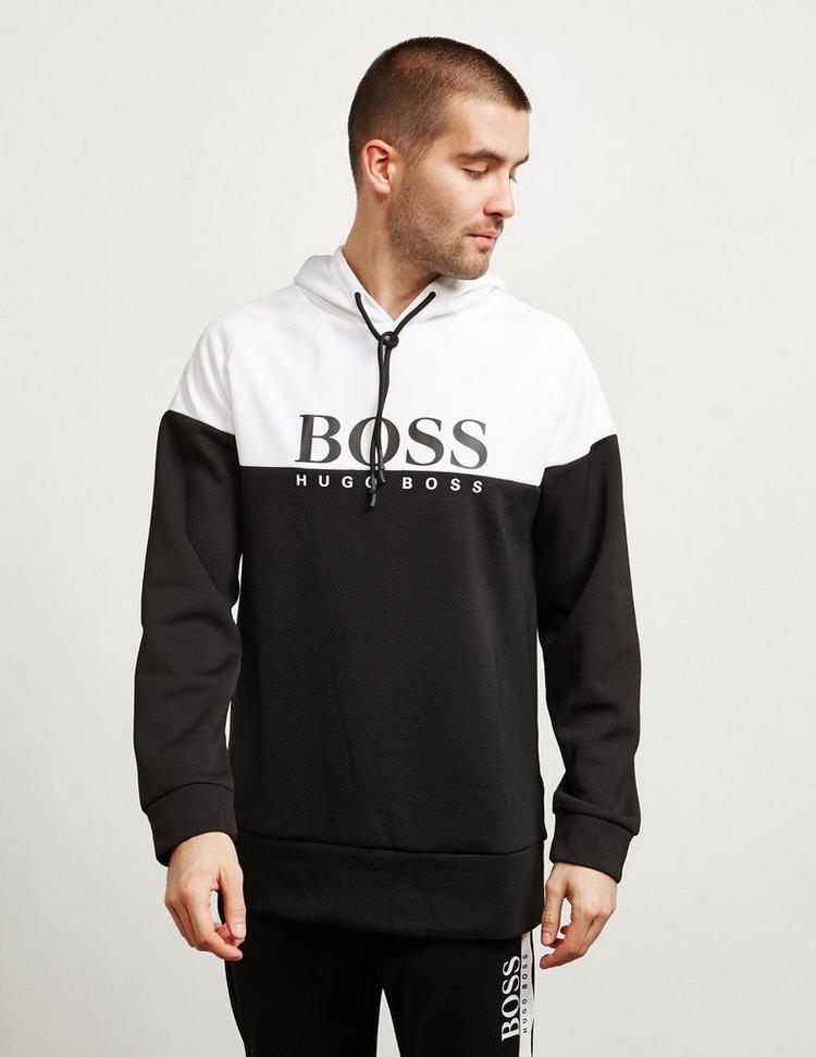 BOSS Split Logo Overhead Hoodie