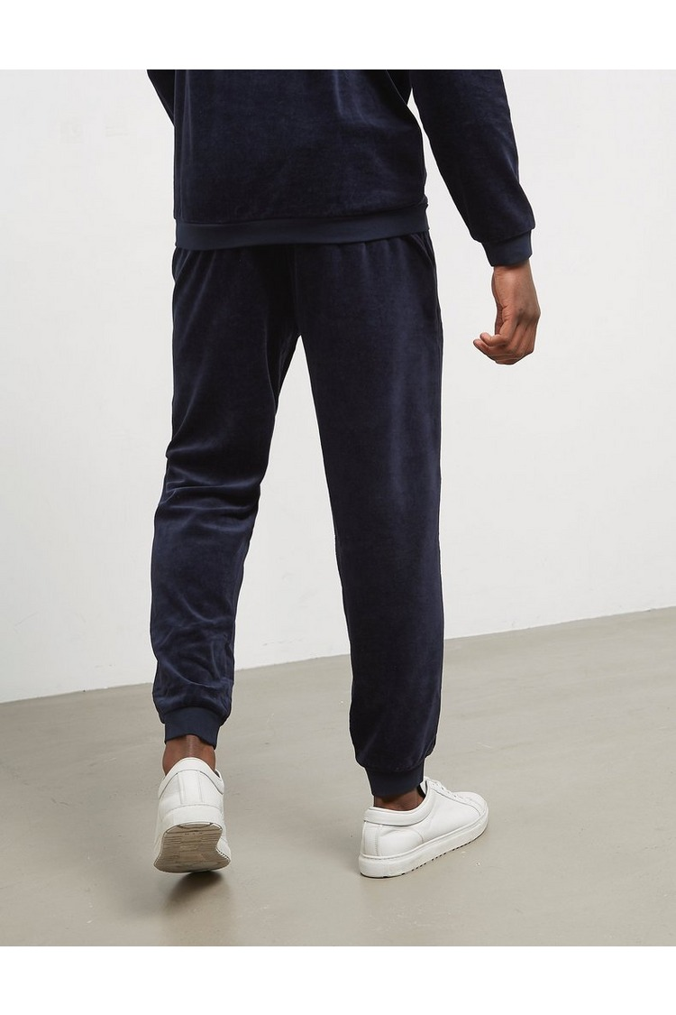 BOSS Velour Cuffed Fleece Pants