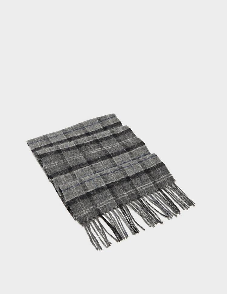Barbour Tartan Wool Scarf