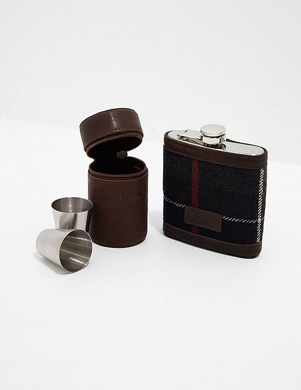 Barbour Flask Gift Set