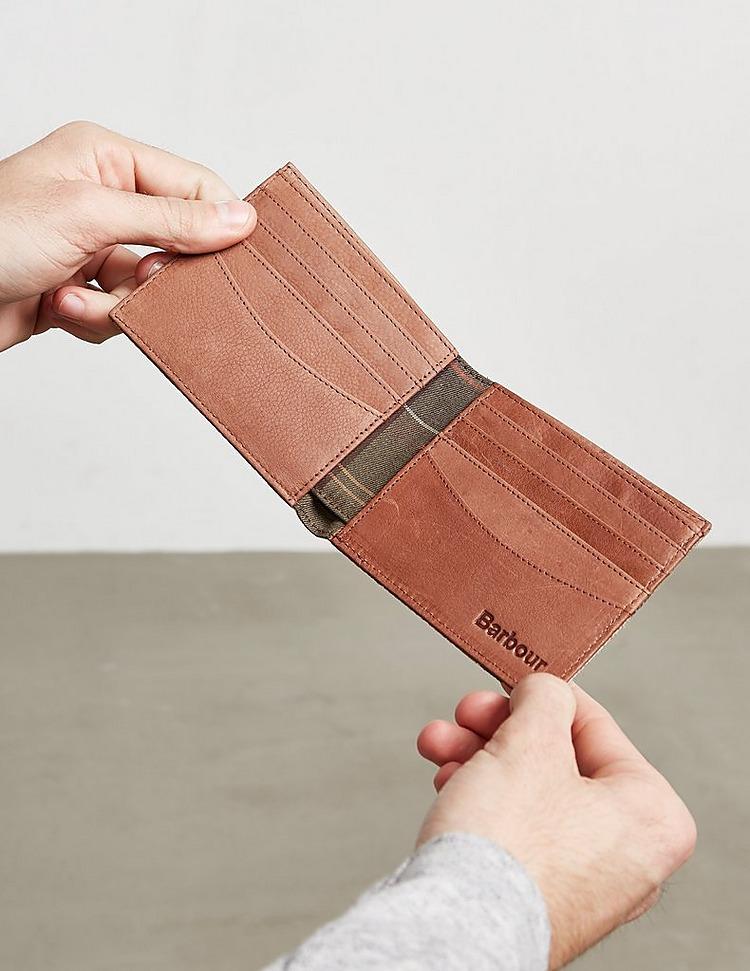 Barbour Tartan Wallet