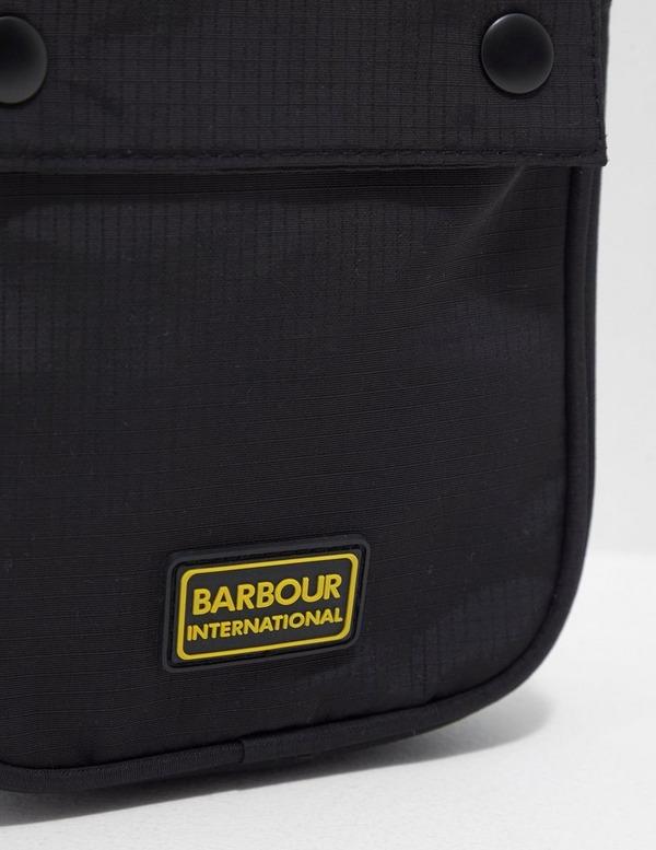 Barbour International Logo Shoulder Bag