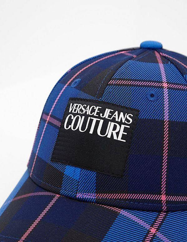 Versace Jeans Couture Tartan Cap