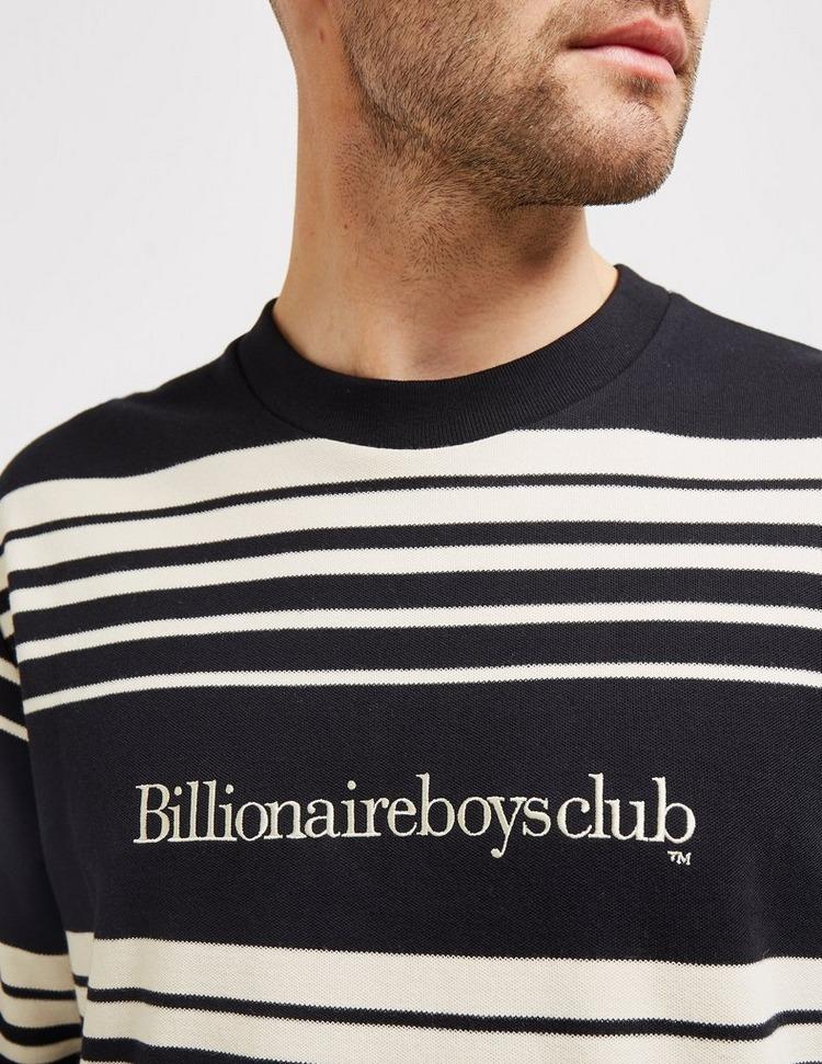 Billionaire Boys Club Striped Crew Neck Jumper